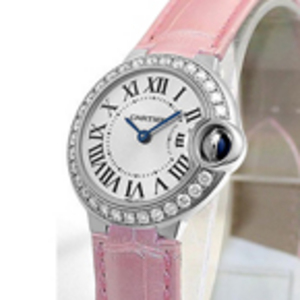 Реплика Cartier Ballon Bleu Diamonds женские часы WE900351